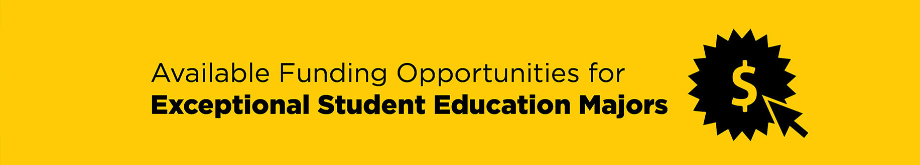 Exceptional Student Education Home | College of Community Innovation