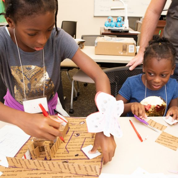 Aspiring Child Engineers Test Creative Problem-Solving Skills at UCF Summer Camp