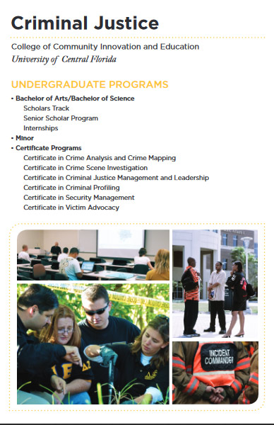 Criminal Justice B A Or B S College Of Community border=