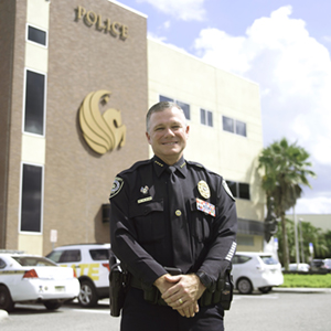 New UCF Police Chief Says Criminal Justice Degree Strengthens Leadership Skills