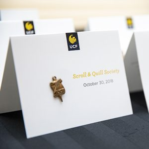 22 Faculty Inducted into UCF's Scroll & Quill Society