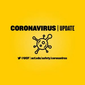 Coronavirus Update: UCF Classes Moving Online