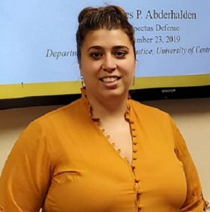 1st Criminal Justice Doctoral Graduate Delivers Hope in Jail Suicide-Prevention Study