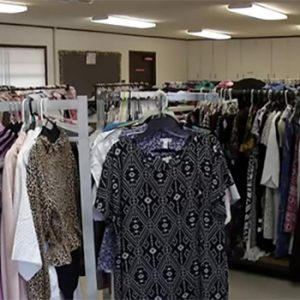 Clean Clothes in New Facility for Students at Clay County school